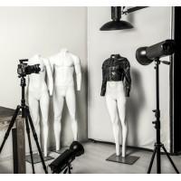 Манекены-невидимки для фотосъемки одежды