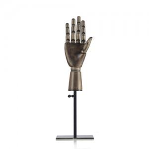 Манекен руки на подставке (деревянный)