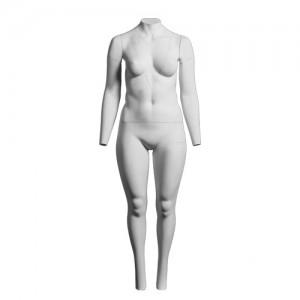 Манекен женский для фотосъемки одежды (подставка на колесах)
