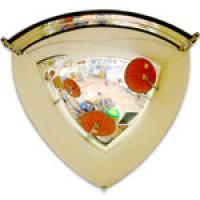 Зеркало обзорное, угловое (1/8 сферы, d-32,5см)