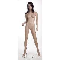 Манекен женский (с макияжем, париком), Высота: 183 см