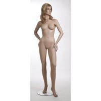 Манекен женский (с макияжем, париком), Высота: 177 см