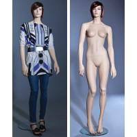 Манекен женский (с макияжем, париком), Высота 181 см