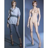 Манекен женский (с макияжем, париком), Высота 182 см