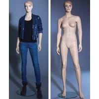 Манекен женский (с макияжем), Высота 184 см