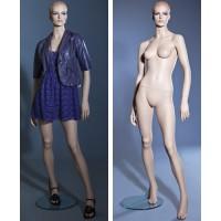 Манекен женский (с макияжем), Высота 182 см