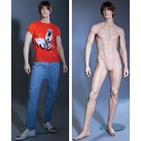Манекен мужской (с макияжем, париком), Высота 188,5 см