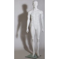 Манекен мужской скульптурный, Высота манекена: 185 см