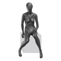 Манекен женский, сидячий, Высота 180 см