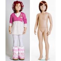 Манекен детский, девочка (с париком), Высота 116 см