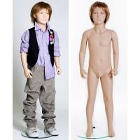Манекен детский, мальчик (с париком), Высота 118 см