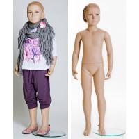 Манекен детский, девочка, Высота 117 см