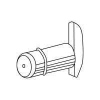 Полкодержатель, хром, используется для установки светильника ОКТА.Софит