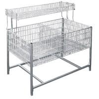 Стол для распродаж (накопитель) с регулируемым дном
