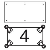 Платформа для дополнительных опор для витрин В-2, В-02, В-2С, В-02С Для прилавков П-2Б-П, П-2Б-Л, П-2С, П-2П  (опоры приобретаются отдельно)