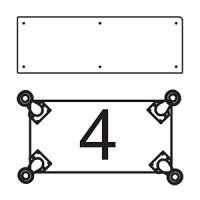 Платформа для дополнительных опор для витрин В-3, В-03, В-3С, В-03С Для прилавков П-3Б-П, П-3Б-Л, П-3Б-Ц, П-3С, П-3П  (опоры приобретаются отдельно)