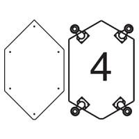 Платформа для дополнительных опор для витрин В-4, В-04, В-4С, В-04С Для прилавков П-4С (опоры приобретаются отдельно)