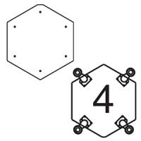 Платформа для дополнительных опор для витрин В-6, В-06 (опоры приобретаются отдельно)