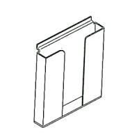 Стенд для бумаг А4. Материал прозрачный акрил