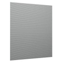 Панель алюминиевая. крепится к стене при помощи STR.100 - 9шт.