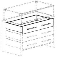 Ящик для прилавков FIN.DSK.100.1HGL.00