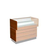 Боковая панель для гнутого стекла. Для прилавков с гнутым стеклом