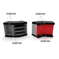 Модуль угловой внутренний 135° левый. Вес 81,8 кг