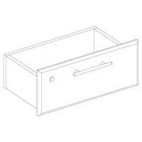 Ящик верхний с замком, правый для прилавков GSS.001 и GSS.003. Материал ДСП