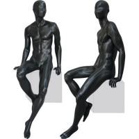 Манекен мужской, сидячий. Высота манекена169,5 см