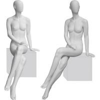 Манекен женский, сидячий. Высота манекена137 см