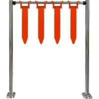 Ворота для тележек (количество флажков 4)