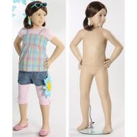 Манекен детский, телесный, 4 года. Высота манекена110 см