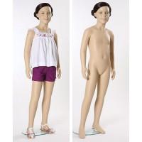 Манекен детский, телесный, 6 лет. Высота манекена127 см