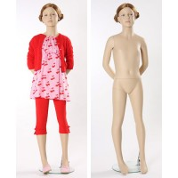 Манекен детский, телесный, 8 лет. Высота манекена141 см