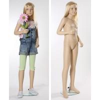 Манекен детский, телесный, 10 лет. Высота манекена145 см