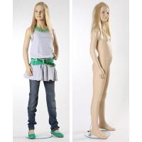 Манекен детский, телесный, 12 лет. Высота манекена153 см