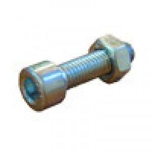Винт 8 х 30 мм. с внутренним шестигранником в комплекте с гайкой (оцинкованый)