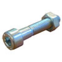 Винт 8 х 40 мм. с внутренним шестигранником в комплекте с гайкой (оцинкованый)