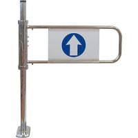 Механические ворота с функцией антипаника, левые