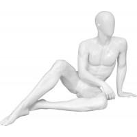 Манекен мужской, сидячий Высота 85см