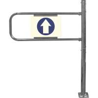 Механические ворота с функцией антипаника, правые