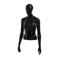 Торс женский (с головой), укороченный, размер 44 (материал стеклопластик)