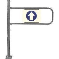 Механические ворота, левые